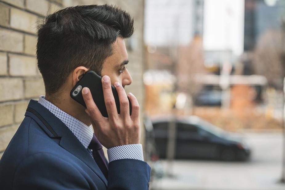 man-cellphone